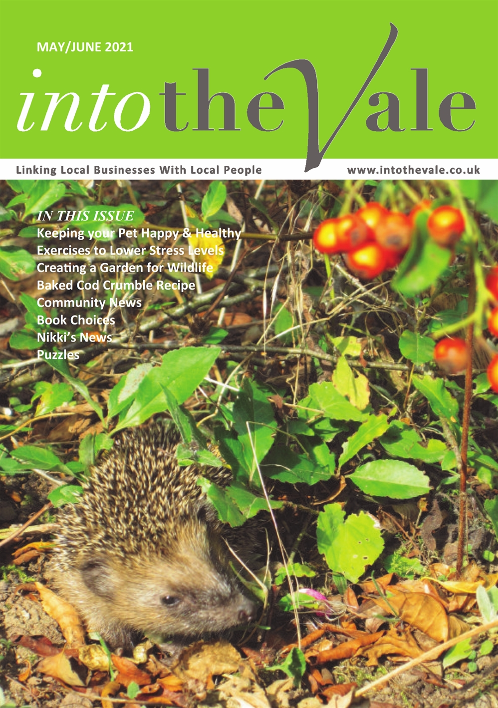 Into the Vale May/June 2021 Issue