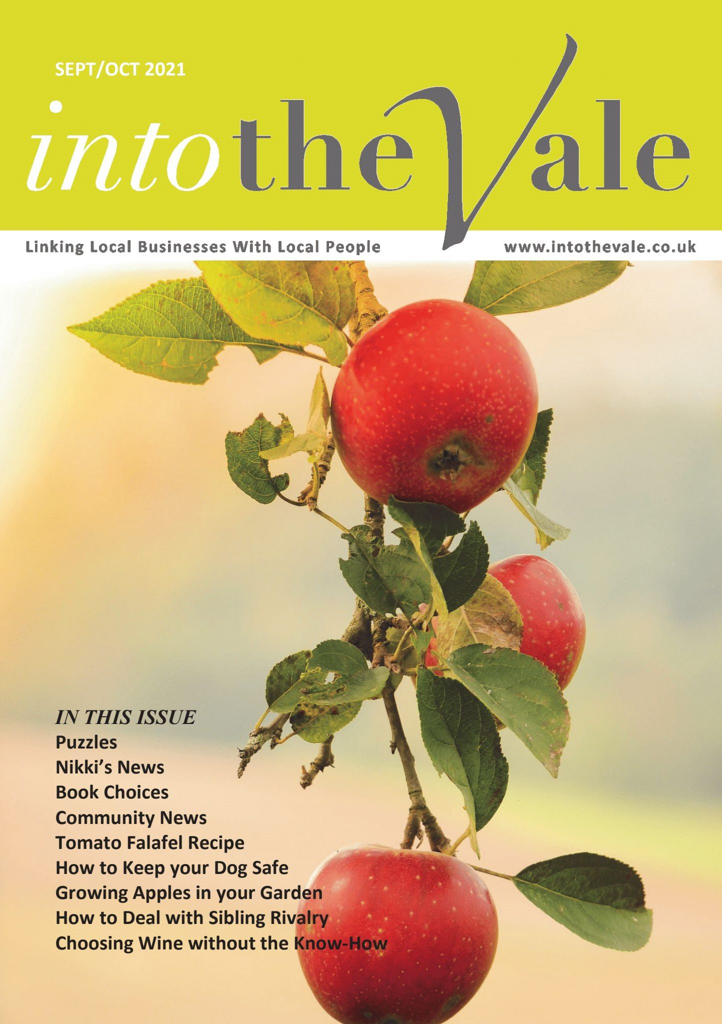 Into the Vale September/October 2021 Issue